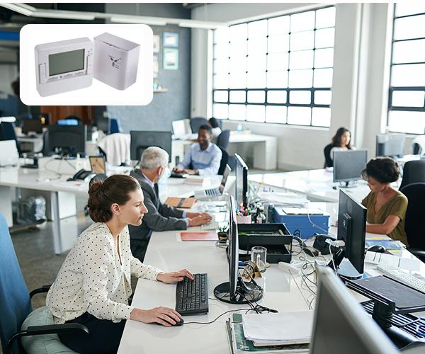Termostate RS PRO cu iluminare de fond, wireless
