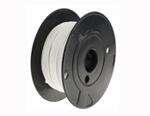 Cablu rezistent la temperturi ridicate -65 → +150°C, alb, 100m, dimensiune fire 0.82 mm² CSA, material izolatie ETFE, M22759/34-18-9