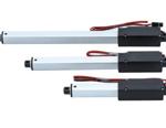 Actuator electric miniatural, viteza maxima 6.5mm/s, lungime cursa 100mm, lungime inchis 152mm, protectie IP54