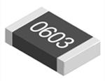 Rezistenta fixa cu montare pe suprafata, seria CRCW, carcasa tip 0603(1608M), rezistenta 0kΩ, toleranta ±1%, puterea 0.1W